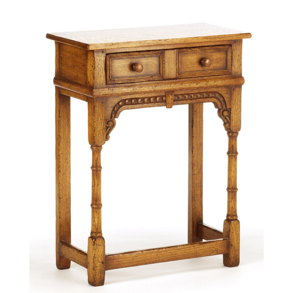 English Oak Hall Table