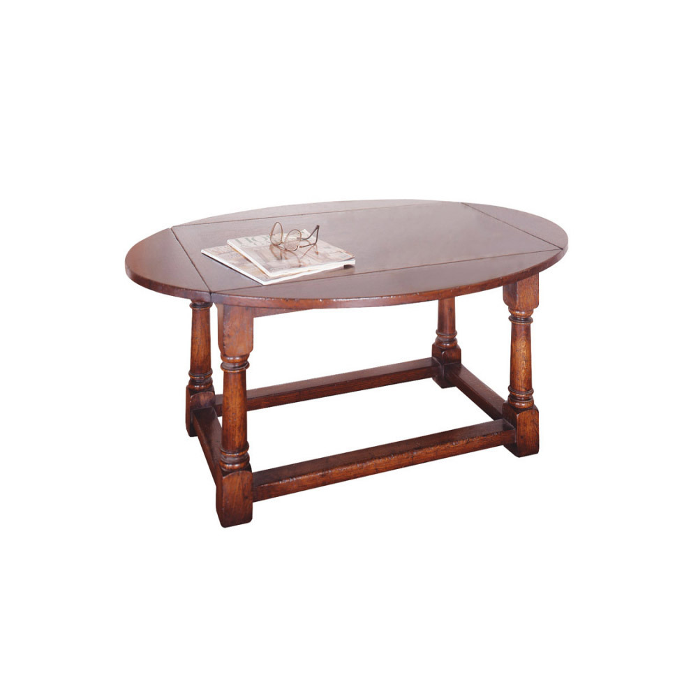 English Oak Oval Butlers Table