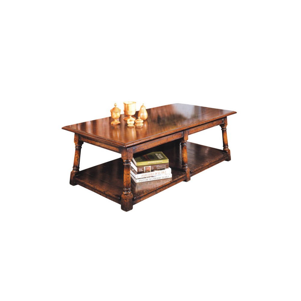 English Oak King Size Coffee Table