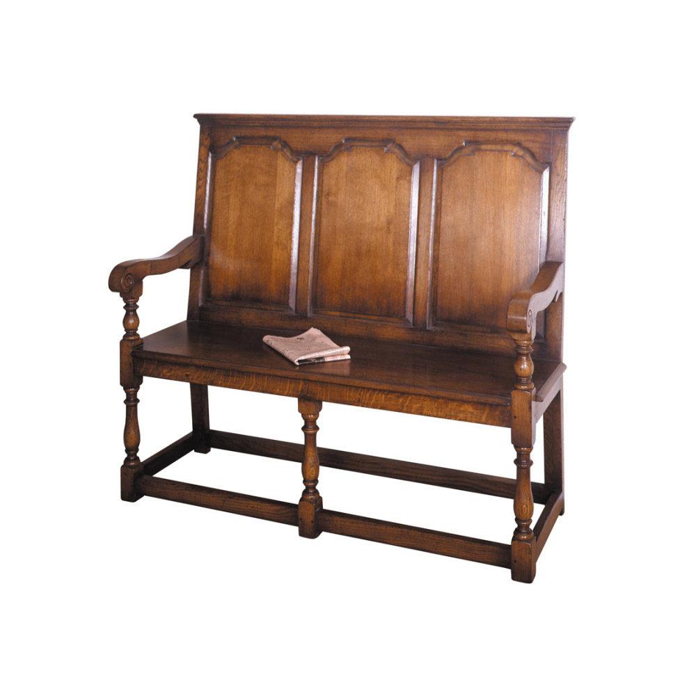 English Oak Tavern Seat