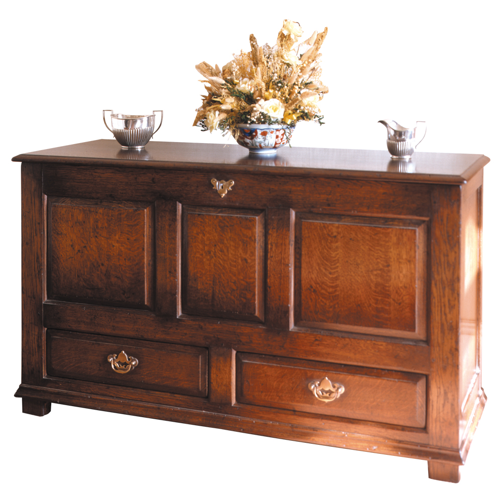 English Oak Dower Chest