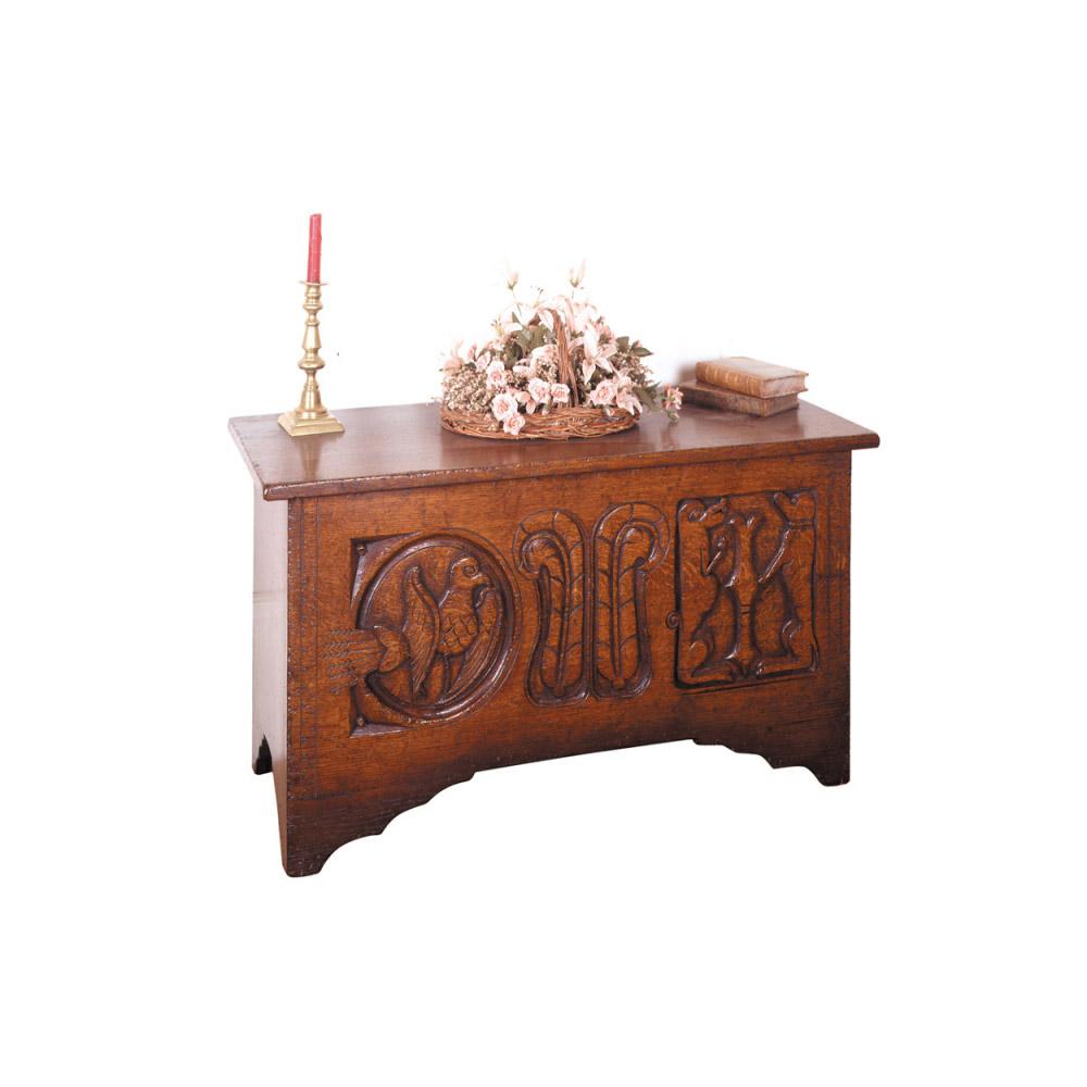 Oak Coffer