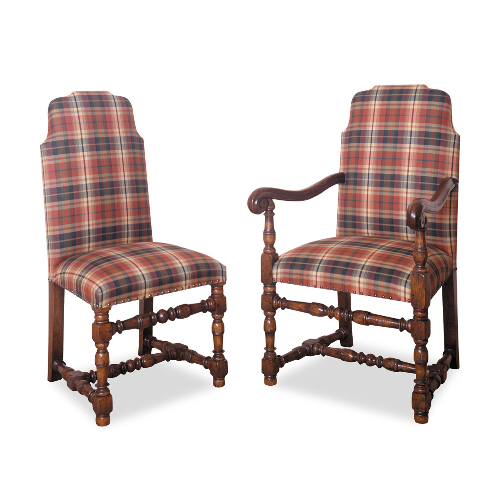 English Oak Banqueting Chair