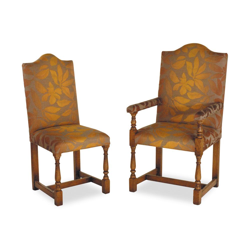 English Oak Yeomans single chair