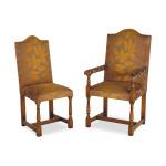 Oak Yeomans single chair