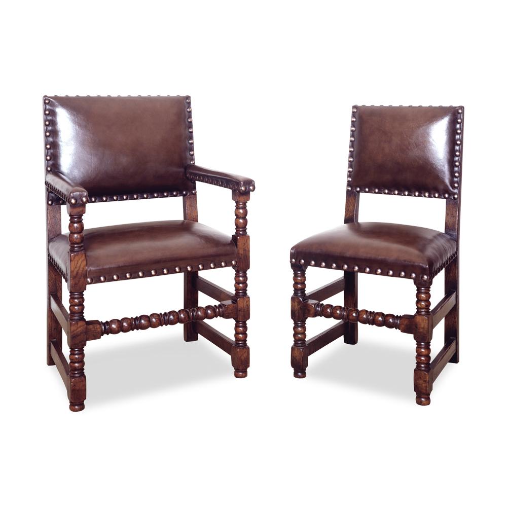 English Oak Cromwell chair