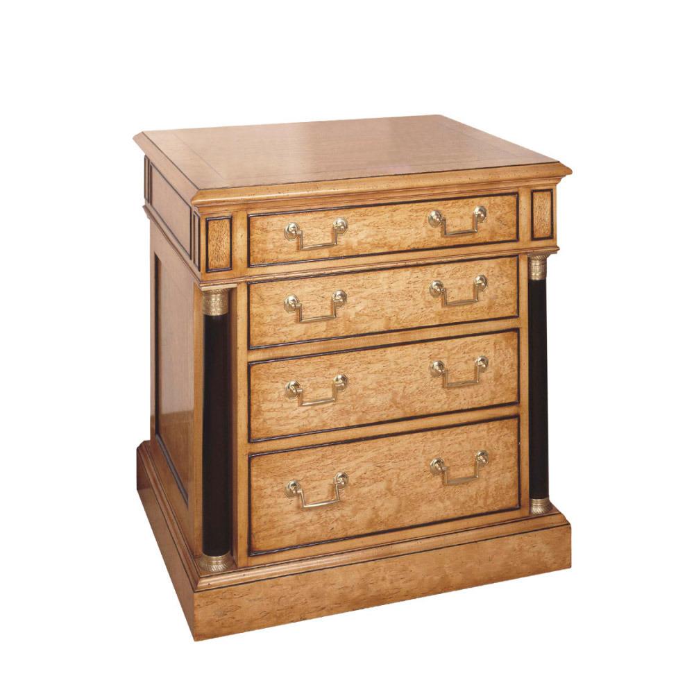 Karelian Birch Bedside Cabinet