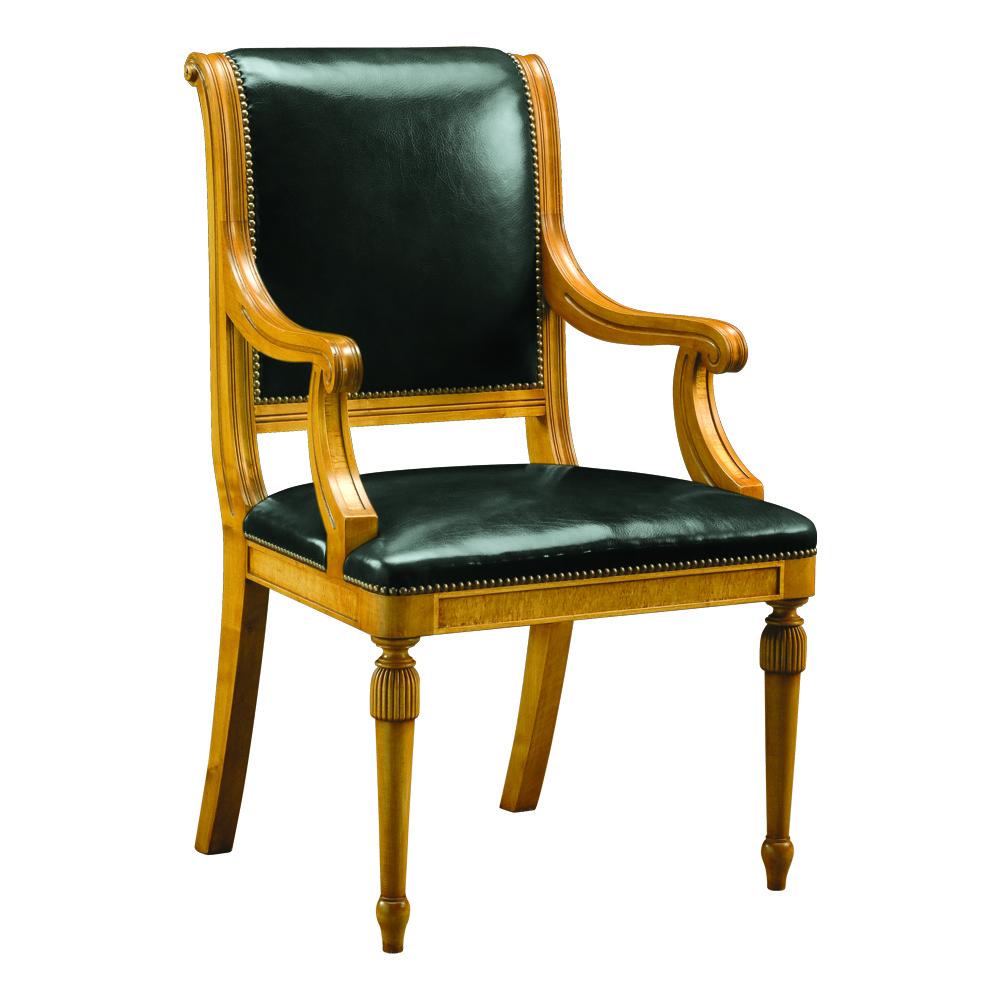 Karelian Birch Bankers Chair