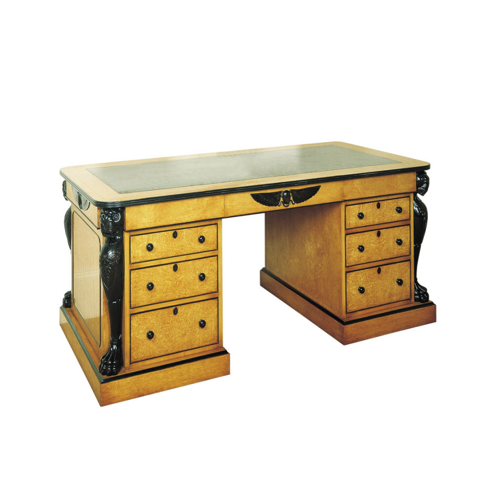 Karelian Birch Magnificent Writing Desk