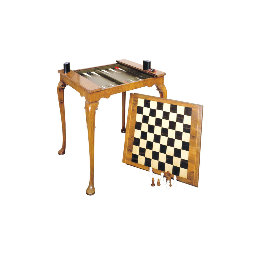 Walnut Games Table