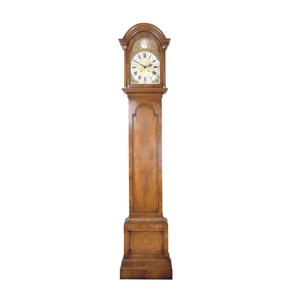 Walnut Longcase Clock