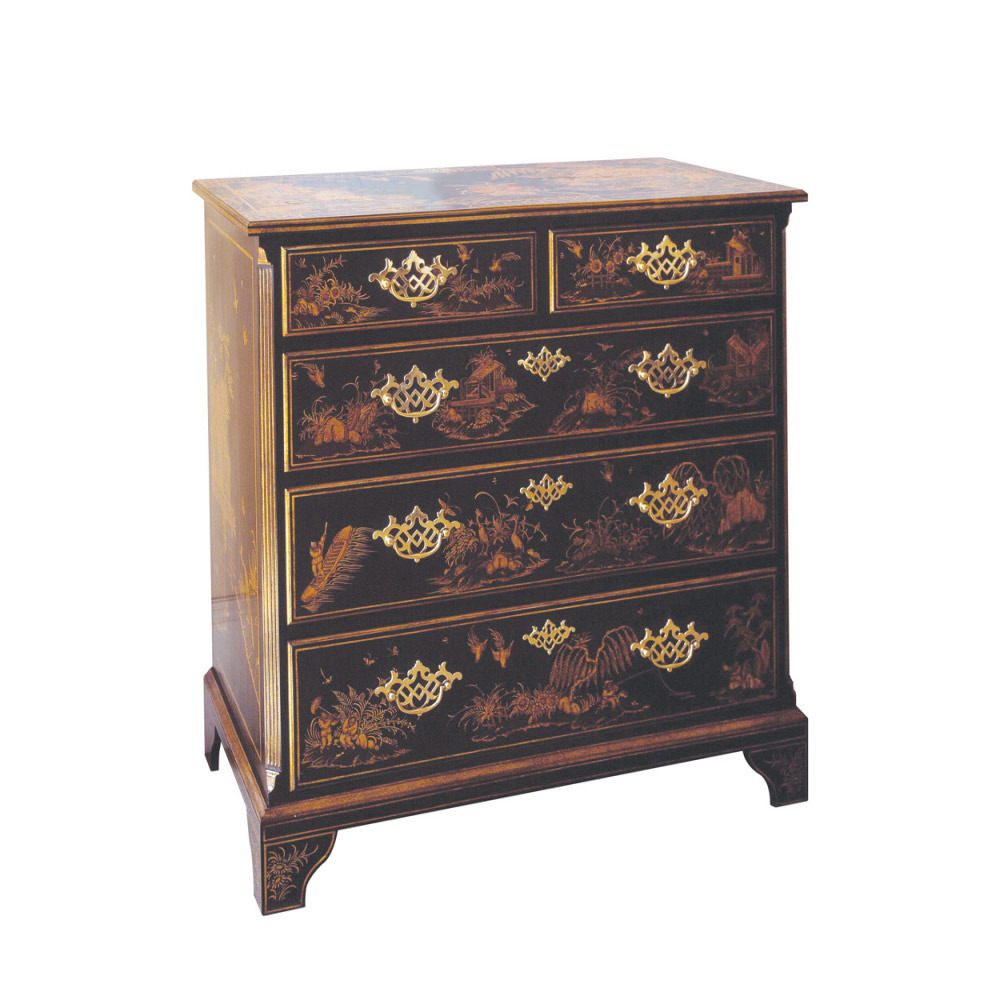 Black Lacquer Chest Of Drawers Titchmarsh Amp Goodwin