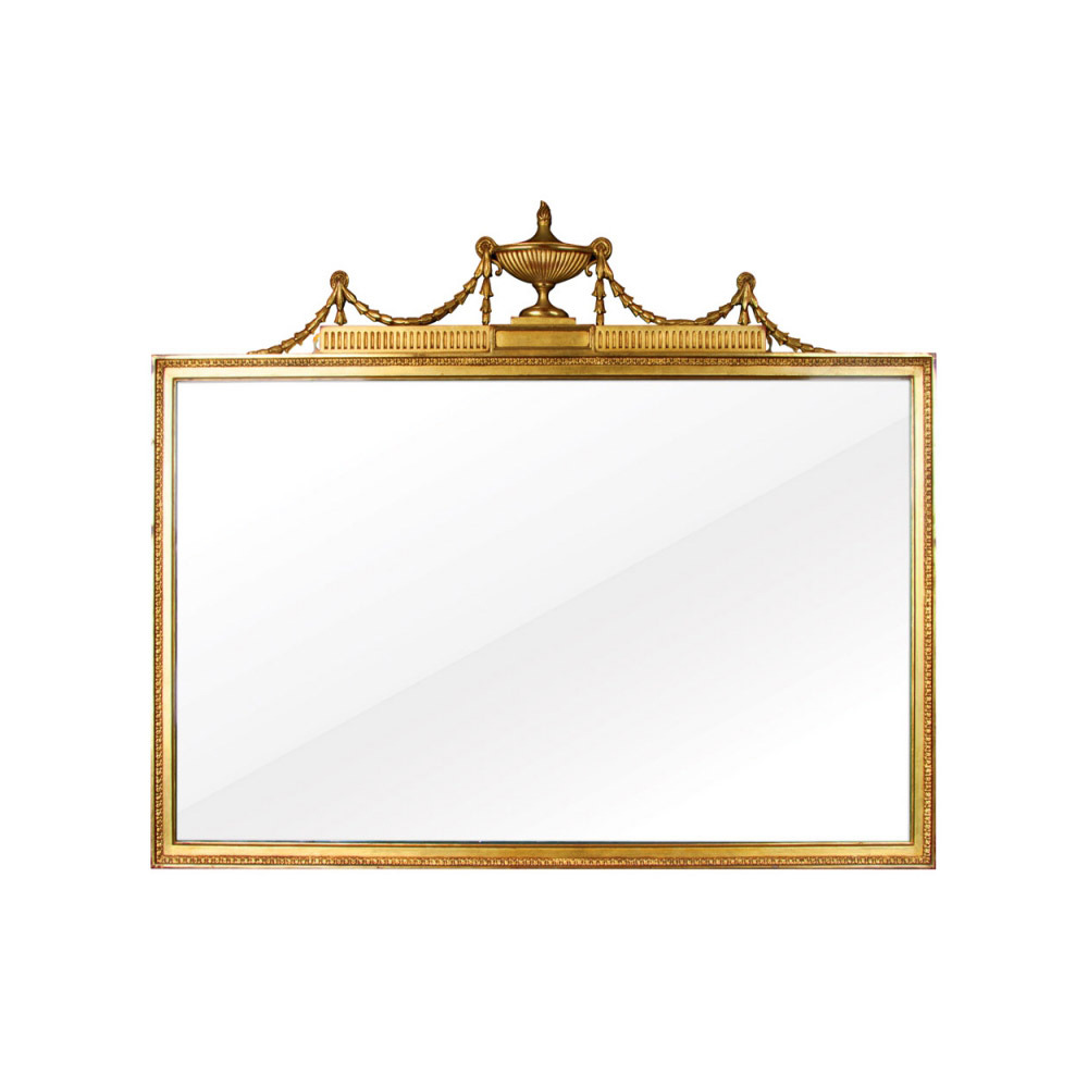 Gilt Overmantel Mirror