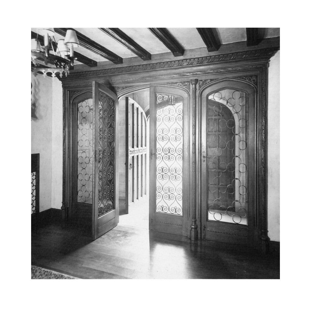 English Oak Door