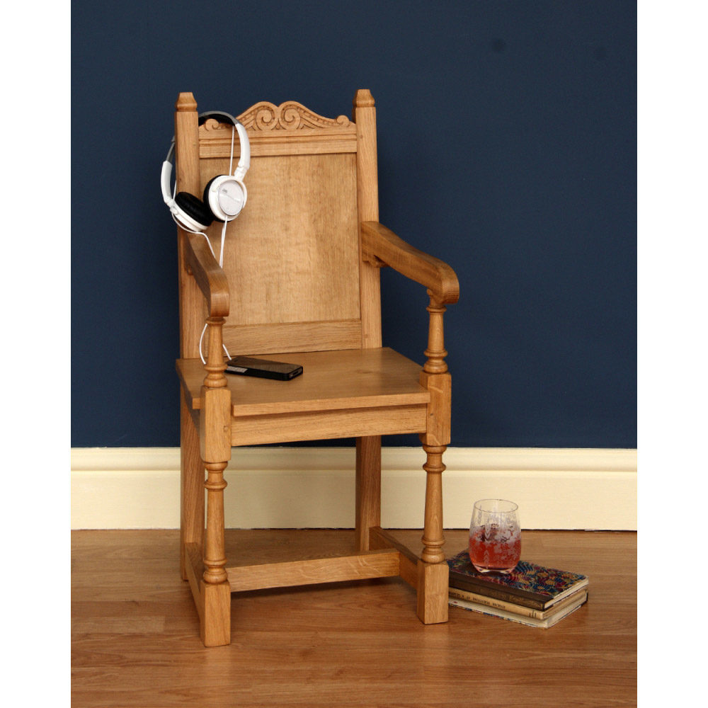 English Oak Natural Childs Chair