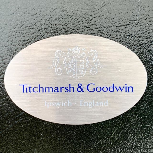 New badges! Thank you @whatassociates we absolutely love them!  Happy sunny weekend everyone. . . . . . . #handmadefurniture #madeinbritain #classicalfurniture #interiordeisgn #bespokefurniture #bespokefurnituredesign #ipswich #suffolk