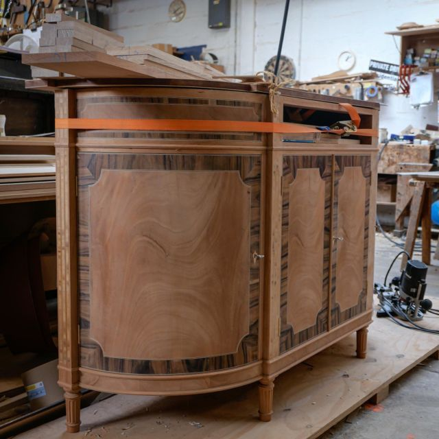 Projects coming to life for private clients and professionals alike, loving all the work the team are doing at the moment, keeping traditional cabinet making alive!   Have a project in mind? Let's have a chat!
