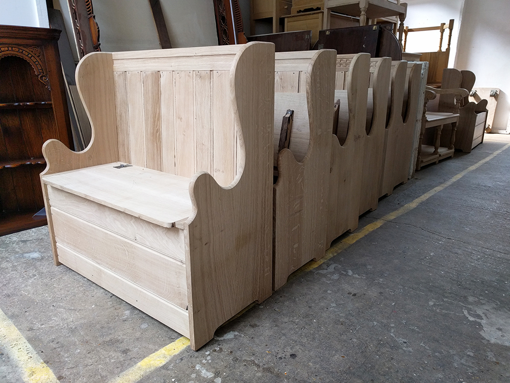 Our box settles 'in the white' ready to be polished to the colour of your choice